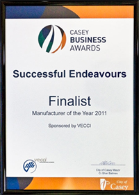 Successful Endeavours - Casey Business Awards 2011
