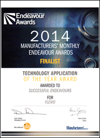 Successful Endeavours - Manufacturers' Monthly Endeavour Awards - Finalist - Technology Application of the Year