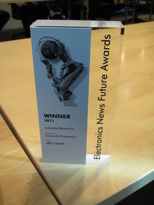 Successful Endeavours - Electronics News Futures Award 2011