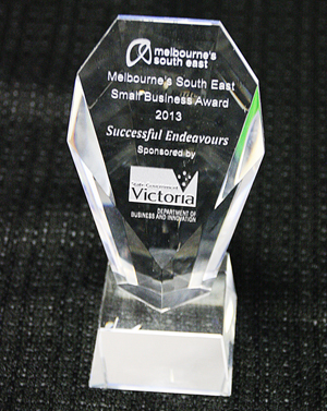 Successful Endeavours - Melbourne's South East Small Business of the Year 2013