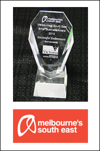 Successful Endeavours - Winners of Melbourne's South East Small Business Award 2013