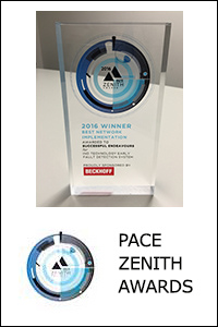 Successful Endeavours - Winners of PACE Zenith Award 2016 for Best Networking Implementation