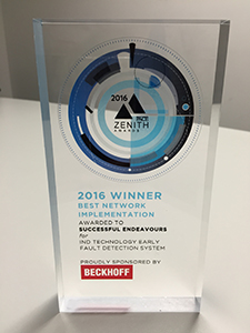 Successful Endeavours - winner Best Network Implementation - 2016 PACE Zenith Awards